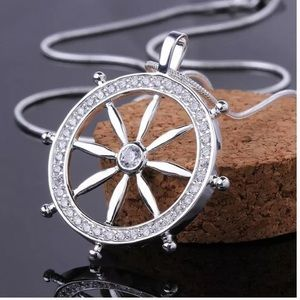 Jewelry - Sterling Silver White CZ Pendant Necklace